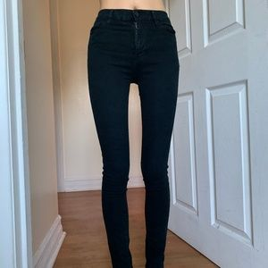 UO BDG Black High Waisted Skinny Jeans